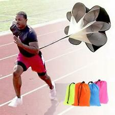 "56"" Sports Speed Chute resistance exercise running power training parachute NEW"