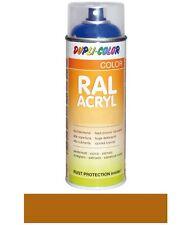 DUPLI-COLOR Spraydose RAL-Acryl ockerbraun glänzend 400 ml RAL 8001