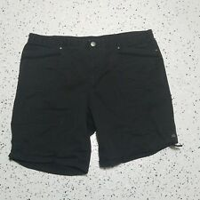 Counterparts Women's Casual Shorts ~ Sz 16 ~ Black ~ Mid Length