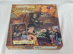 NEW Harry Potter & The Sorcerers Stone - 260 Piece Family Puzzle Magic Decoder