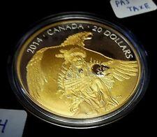 Thunderbird's Nest Nanaboozhoo 2014 1oz .9999 Fine Silver Canada Coin NO BOX