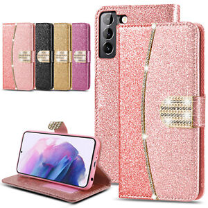 Case For Samsung S20 S21 Plus Ultra S20FE Luxury Leather Flip Wallet Cover