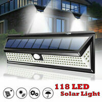 Waterproof 20 LED Solar Power PIR Motion Sensor Wall Light Outdoor Garden Lamp f