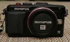 Olympus PEN Lite E-PL6 16MP Digital Camera Body With Accessories