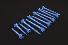 "Performance Plastic GOLF TEES Combo pack (2.75"" & 1.75"") LOT of 12 - NEON BLUE"