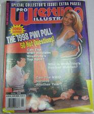Pro Wrestling Illustrated Magazine The 1998 PWI Poll June 1998 032213R