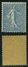 """FRANCE  N° 132  """"  SEMEUSE LIGNEE  25c  BLEU 1903  """"  NEUF XX TTB"""