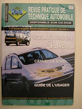 Revue technique automobile RTA neuve Volkwagen SHARAN  essence et diesel