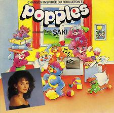 SAKI LES POPPLES SONT ARRIVES / INSTRUMENTAL FRENCH 45 SINGLE
