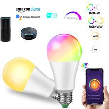 15W Wifi Smart RGB LED Bulb Light for Amazon Alexa/Google Home App Control HOT K