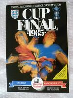 1985 FA Cup FINAL- EVERTON v MANCHESTER UNITED 18 May Excellent Condition- ORG*