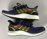 Marvel Thanos Shoes Mens SZ 9 Avengers End Game Adidas Purple UK 8.5 Sneakers