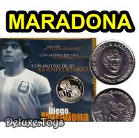 DIEGO MARADONA OFFICIAL MEDAL COIN MONETA CASA DE LA MONEDA ARGENTINA