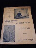 Partition Sélection V Bellini Piano Violon Music Sheet