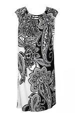 BRAND NEW SANDRA DARREN WOMENS JERSEY STRETCH SHIFT LINED DRESS COCKTAIL TOP 10