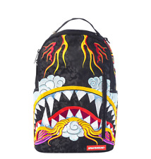 Sprayground Dragon Shark Japanese Art Urban School Book Bag Backpack 910B1621