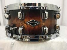 "Tama Starclassic Birch/Bubinga 14"" Dia X 6.5"" Deep Snare Drum/Molten Brown Burst"