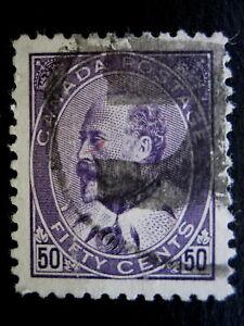 CANADA - SCOTT# 95 - USED - CAT VAL $175.00