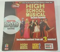 High School Musical Wildcat Megamix DVD Board Game 2008 - From all 3 Movies -NEW