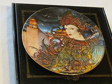 Turandot collector plate 38-P63-1.6 1987 Coa Box Riccardo Benvenuti Bradford #%