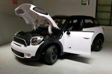 1:24 Escala Blanco BMW Mini Cooper R60 2010 Rastar Fundido Modelismo Coche