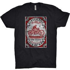 Isle Of Man TT T Shirt Motorbike Indian Motorcycle Guy Martin Spanner Skull