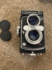 Yashica-D Vintage Camera w/Copal-MXV 1:3.5 80 Mm Lens w/ Lens Cap