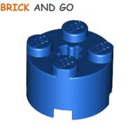 10x 394121 614321 Brick 3941 6143 LEGO NEW 2x2 Red Brick Round