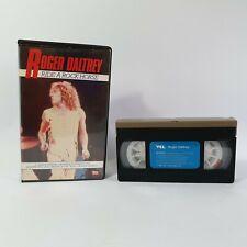 Roger Daltrey Ride A Rock Horse VHS Video Cassette Clam Shell Box Pre-Cert VO78B