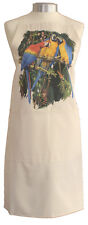 Macaws Macaw Tropical Bird Quality Cotton Apron Double Pockets Baker Cook Gift