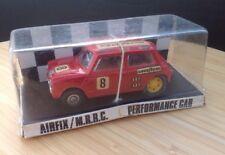 Raro década de 1960 Airfix MRRC Vintage No.5165 Rojo Mini COOPER SCALEXTRIC 1/32 Slot Car