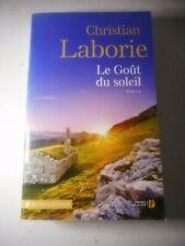 Livre - Roman - Christian Laborie - Le goût du soleil