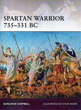 OSPREY WARRIOR SERIES #163: SPARTAN WARRIOR 735-331 BC