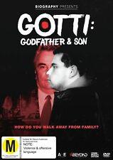 GOTTI: GODFATHER & SON [NON-USA FORMAT PAL REGION 2 & 4] (DVD) SEALED