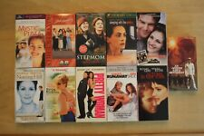 VHS 11 Movie LOT- Julia Roberts- Richard Gere- All Like New- Tested