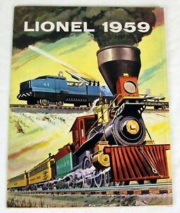 Original Lionel 1959 Advance Catalog