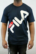 FILA MEN S/S MICAH T-SHIRT BLUE/WHITE/RED LM171S89
