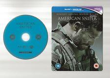 AMERICAN SNIPER - UK EXCLUSIVE BLU RAY STEELBOOK