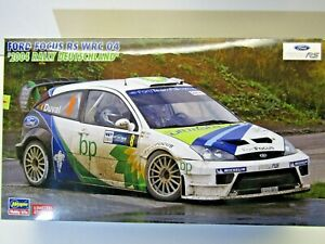 Hasegawa 1:24 Scale Ford Focus RS WRC 2004 Rally Deutschland Model Kit # 20263