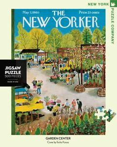 NEW YORK PUZZLE COMPANY NYPC 500 Pc Puzzle – Garden Centre 04651
