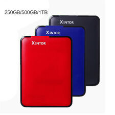 "250G 500G 1TB External Portable Hard Disk Drive HDD 2.5"" USB 3.0"