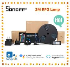 Sonoff L1 Smart WIFI LED Light RGB Waterproof Strip Lamp Kit For Google Alexa-US