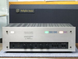 LUXMAN LX33 Audio AV Amplifier operation confirmed USED japan first shipping