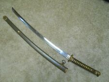 NICE WW2 JAPANESE SWORD, OFFICERS, GUNTO, SIGNED & DATED