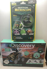 DISCOVERY Robot Creation Building Kit + NG Smartphone Microscope Both New In Box