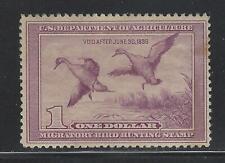 Vegas - 1938 Usa Federal Duck Stamp - Sc# Rw5 - Mnh, Og - Some Toning (De10)