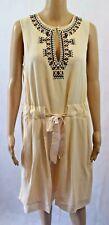 Noa Noa Sand Dollar Summer Crepe Embroidered Dress - Size 38 (R107)