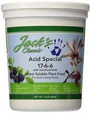 Jack's Classic Acid Food 1.5lb 17-6-6 Plant Food Fertilizer