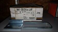 "BOX OF 25 B-LINE B441-22A ZN BM 1 5/8"" CLAMPS   W494"