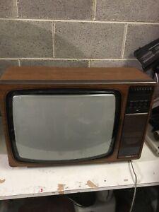 "Vintage Ferguson TX 20"" Retro Television Set  1970s Film Prop Museum"